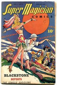 Super Magician Vol 3 #9-Blackstone- Red Dragon Spicy Babe cover