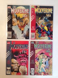 Wolverine Saga 1-4 Complete Near Mint Lot Set Run
