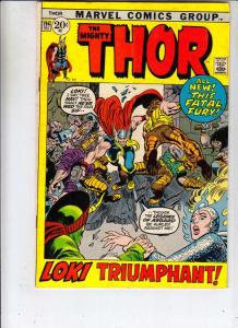 Thor, the Mighty #194 (Dec-71) FN- Mid-Grade Thor