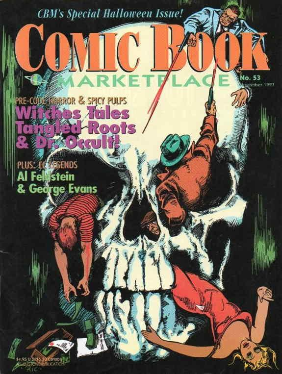 Comic Book Marketplace #53 VF/NM; Gemstone | save on shipping - details inside