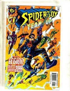 5 Comics Spider-Boy 1, Thorion 1, Super Soldier 1, Amazon 1, Assassins 1 JF12