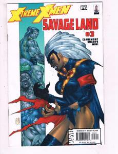 Xtreme X-Men #3 VF Marvel Savage Comic Book Claremont Storm 2001 DE9