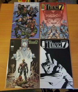 Team 7 1-4 Complete Set Run! ~ NEAR MINT NM ~ 1994 Image Comics
