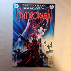 Batwoman 6 Very Fine Cover by Eddy Barrows