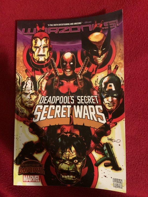 Deadpool Secret Wars vol. 1