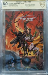 Detective Comics #1027 8.0 CBCS signed by Tyler Kirkham Anniversary Issue