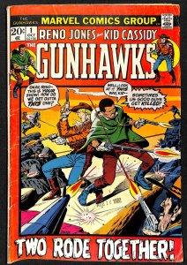 Gunhawks #1