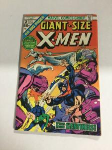 Giant-Size X-Men 2 Vg Very Good 4.0 Water Damage Marvel Comics