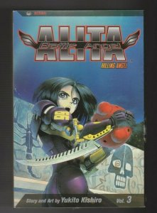 ALITA BATTLE ANGEL VOL.3 KILLING ANGEL story & art by YUKTO KISHIRO english