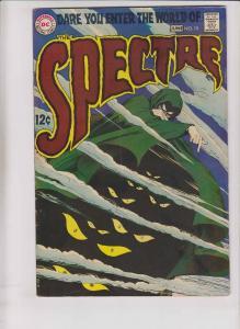 the Spectre #10 FN june 1969 - last issue- silver age - dc comics - horror