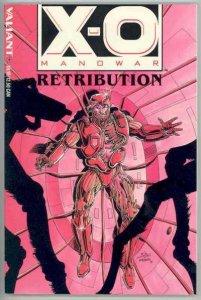 X-O Manowar (1992 series) Retribution #1, NM (Stock photo)