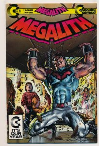 Megalith (1989 1st Series) #1 VF