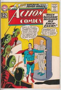 Action Comics #292 (Sep-62) VF/NM High-Grade Superman, Supergirl