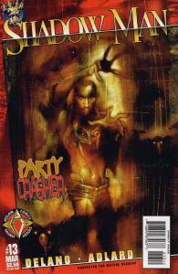 Shadowman (Vol. 2) #13 VF/NM; Acclaim   save on shipping - details inside