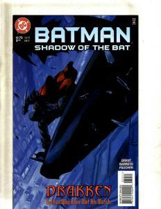 Lot of 10 Batman Shadow of the Bat DC Comics #72 73 74 75 76 77 78 79 81 82 SM15