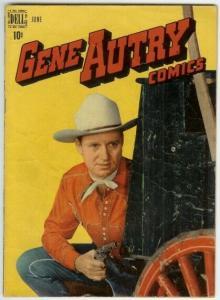 GENE AUTRY (1943-1959 FAWCETT/DELL) 16 VG- PHOTOCOVER COMICS BOOK