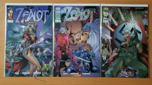 Zealot 1-3 Complete Set Run! ~ NEAR MINT NM ~ 1995 Image Comics