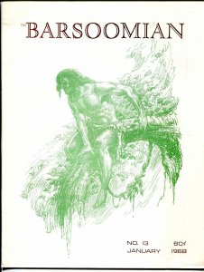 Barsoomian #13 1/1968-Paul C. Allen-ERB-Tarzan-John Carter of Mars-Krenkel-VF