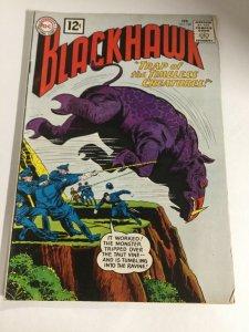 Blackhawk 169 Gd Good 2.0 DC Comics Silver Age