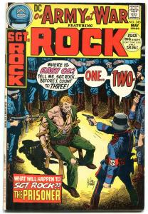 OUR ARMY AT WAR #245-SGT. ROCK-DC WAR F/VF