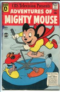 ADVENTURES OF MIGHTY MOUSE #144 1959-PINES-HECKLE & JECKLE-good