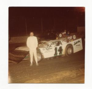 Ray Godsey-Color Photo-East Bay Speedway-#14-1983-VG