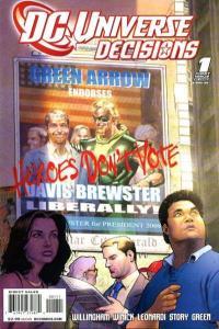 DC Universe Decisions #1, NM- (Stock photo)