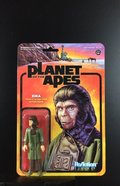 """Zara """"Planet of the Apes"""" action figure"""