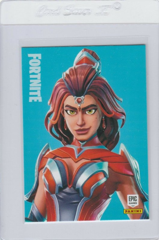 Fortnite Valor 295 Legendary Outfit Panini 2019 trading card series 1
