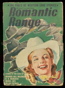 ROMANTIC RANGE DEC 1942-MODEST STEIN COVER-WESTERN VG