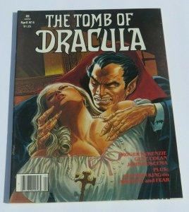 The Tomb of Dracula #4 VF- 1980 Bronze Age Horror Magazine Vampires Stephen King