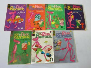 Pink Panther comic lot 7 different