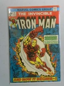 Iron Man #71 (1974 1st Series) 5.0/VG/FN