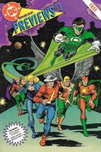 DC SNEAK PREVIEWS #1, VF/NM, 1991, Justice Society of America, Green Lantern