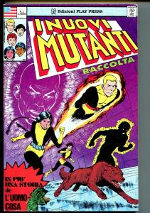 Inuovi Mutanti #1 1987-Marvel-Italian-1st issue-New Mutants 1-4-covers-FN