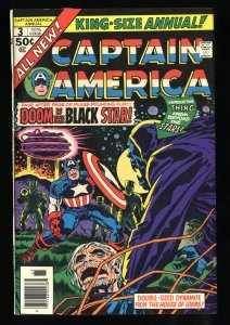 Captain America Annual #3 VF/NM 9.0