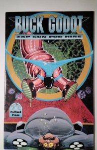 Buck Godot - Zap Gun For Hire #6 (1995) Palliard Comic Book J756