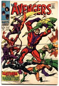AVENGERS #55 1968-1st ULTRON-KEY ISSUE- NICE COPY
