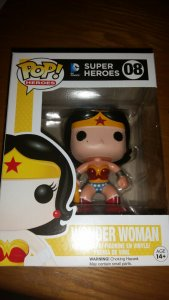 DC Super Heroes WONDER WOMAN #08 Vinyl MIB Funko POP! SUPERMAN BATMAN MOVIE