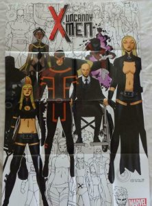 X-MEN UNCANNY  Promo Poster, 24 x 36, 2015, MARVEL, Unused more in our store 194