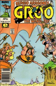 Groo the Wanderer #4 (Newsstand) FN; Epic | save on shipping - details inside