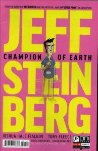 Jeff Steinberg: Champion of Earth #1 VF/NM; Oni Press | save on shipping - detai