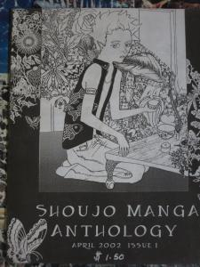 Shoujo Manga Anthology April 2002 School of Visual Arts NYC B/W Comic Stories