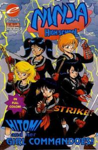 Ninja High School in Color #12 VG; Eternity | low grade comic - save on shipping