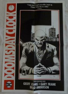 DOOMSDAY CLOCK  Promo Poster , 15 x 22,  2017, DC, LEX LUTHER Unused 091