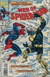 Marvel WEB OF SPIDER-MAN (1985 Series) #108 VF/NM
