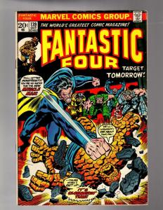 FANTASTIC FOUR 139 VG+ Oct. 1973 COMICS BOOK