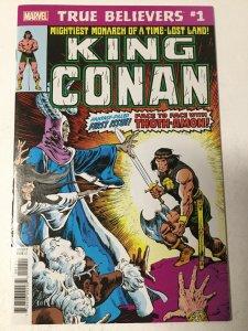 True Believers: King Conan 1 Nm Near Mint Marvel