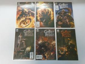 Ghost Rider set #1-6 8.0/VF (2005 3rd Series)