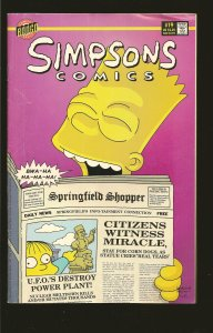 Bongo Simpsons Comics #19 & Rowell #1 (1996) SALVAGED>PLEASE READ NOTE<